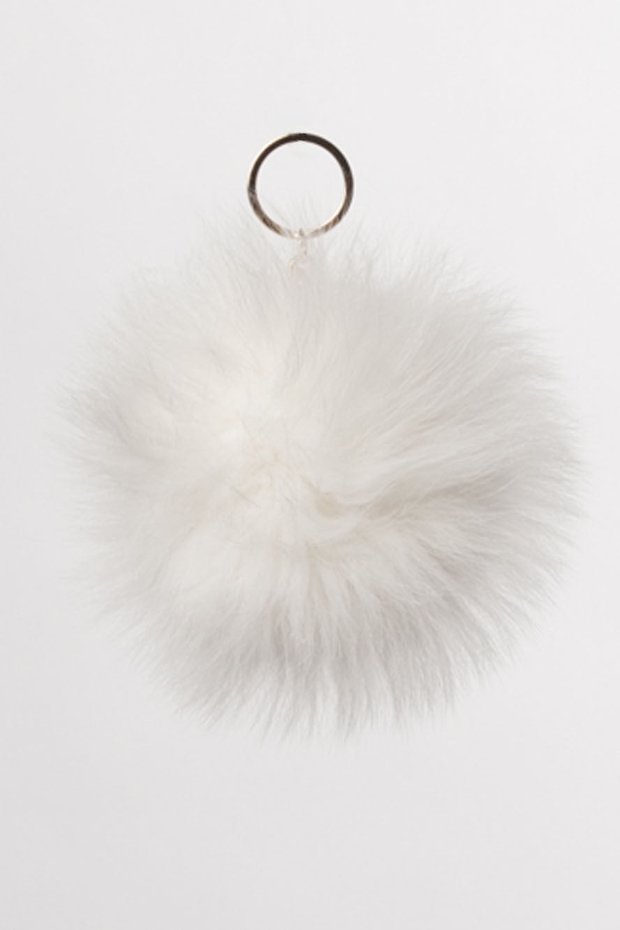 Shadow Fur Ball Key Chain