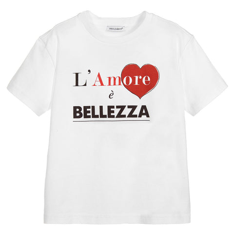 'L'Amore è Bellezza' T-Shirt