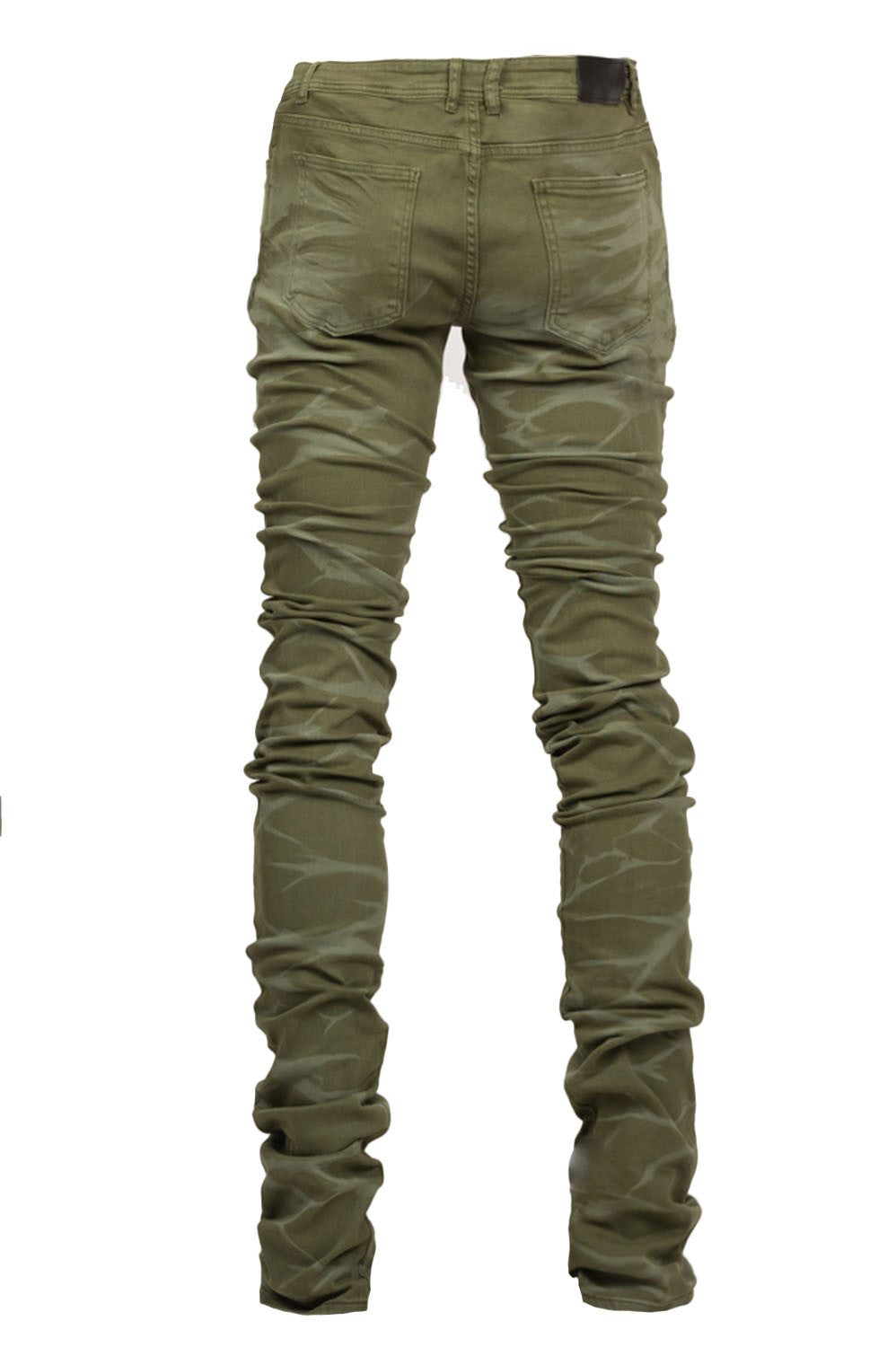 Cano Stacked Olive Denim