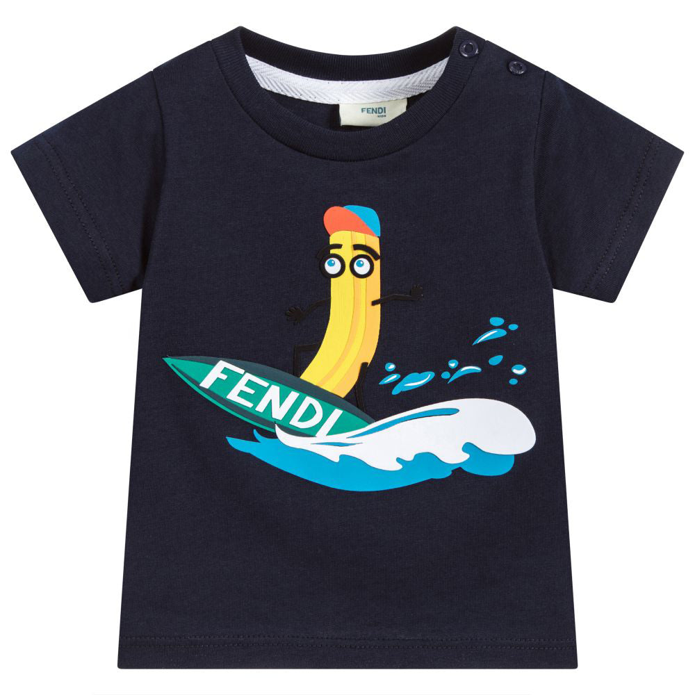 Baby Boy SS Surfing Banana