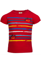 Boys Monster Red Tee