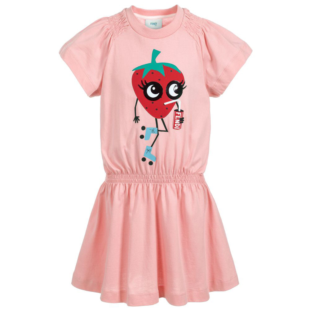 Girls Rosa Jersey Dress