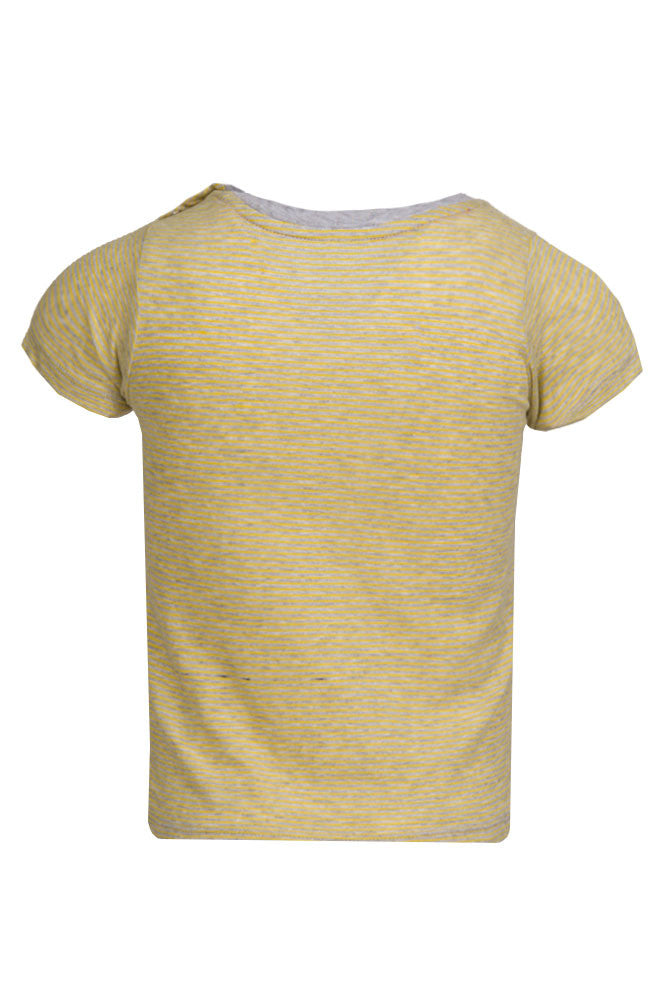 FF Boys Yellow Striped Tee