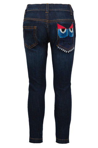 Boys Monster Denim Pants