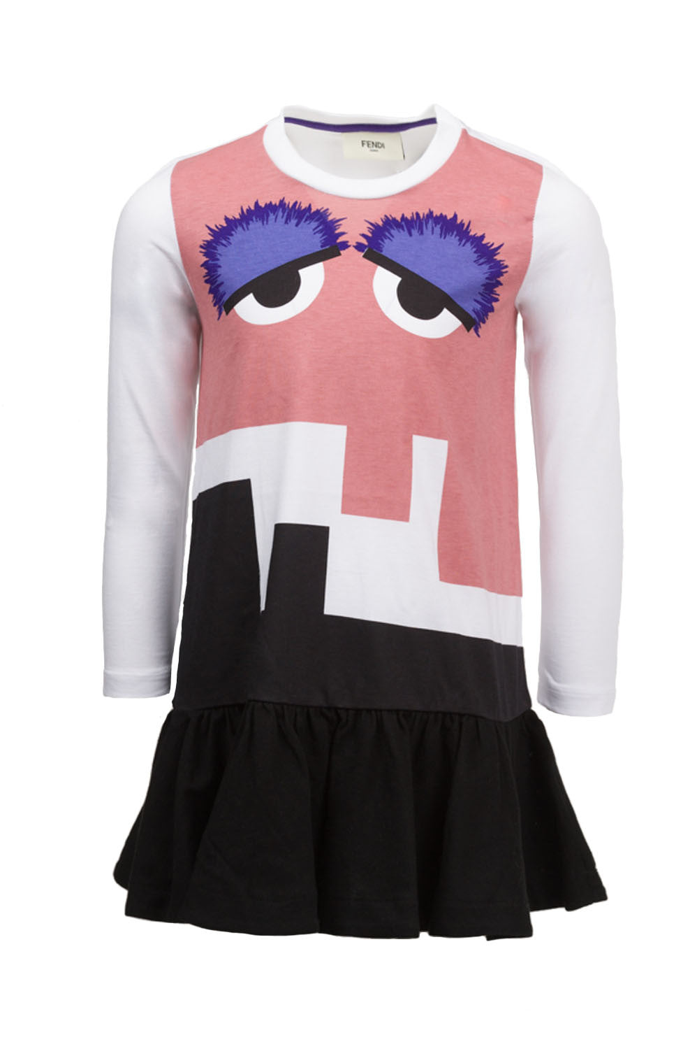 Girl Monster Long Sleeve Dress