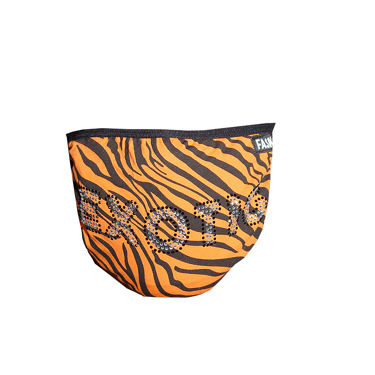 FASK Men's Mask-Black/Orange