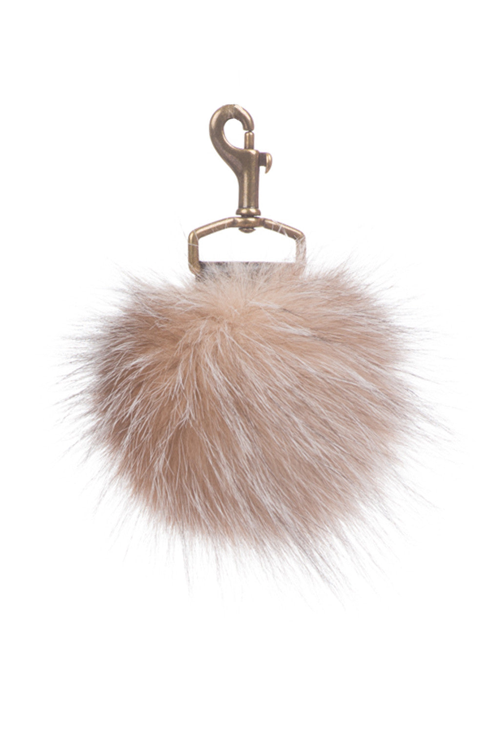 Fur Ball Key Chain