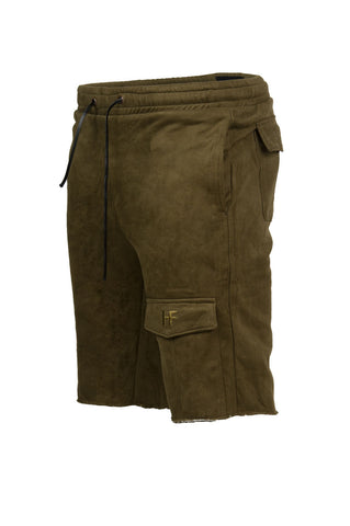 Accent Olive Shorts