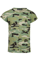 Light Camo Muscle Tee