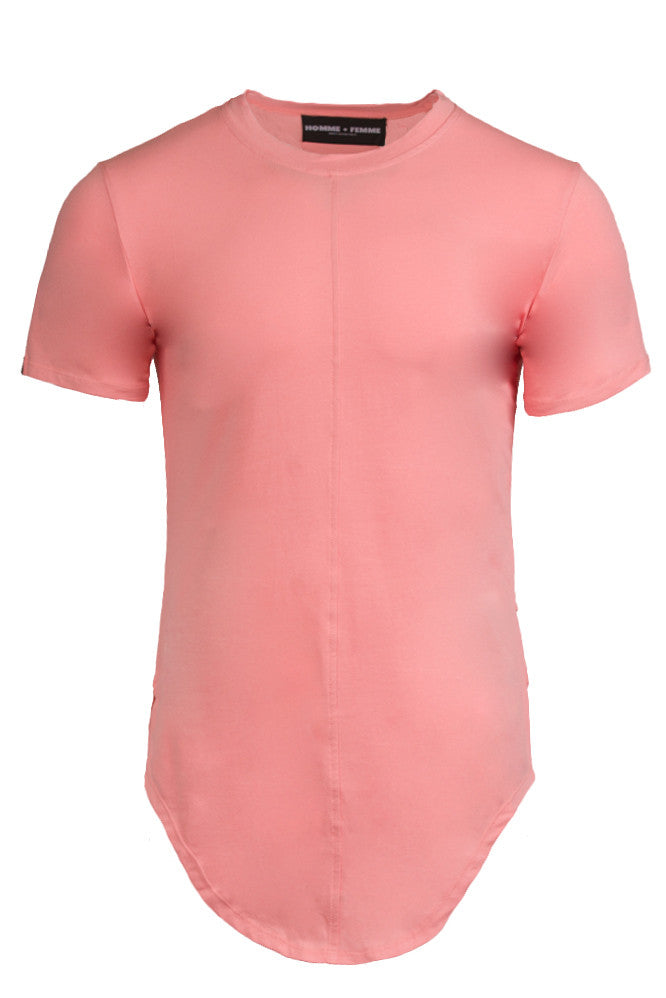 Triple Layer Salmon Tee
