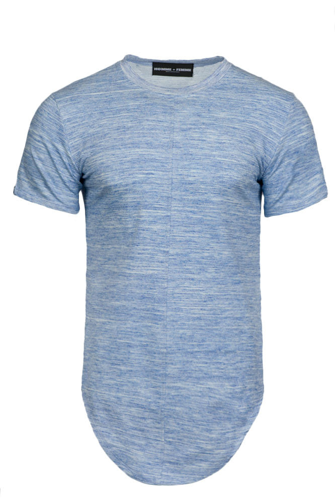 Triple Layer Marble Blue Tee