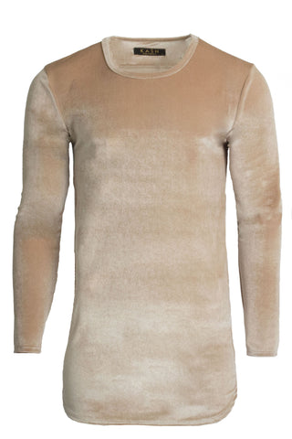 Velour Camel Long Sleeve