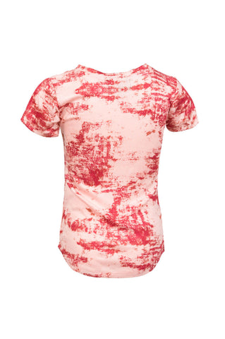Extended Red Ink Blot Tee