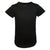 Kids Quilted Extended Black Short Sleeve