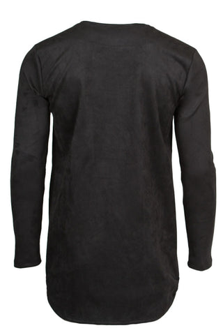 Micro Suede Long Sleeve