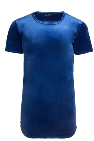 Velour Royal Blue Tunic
