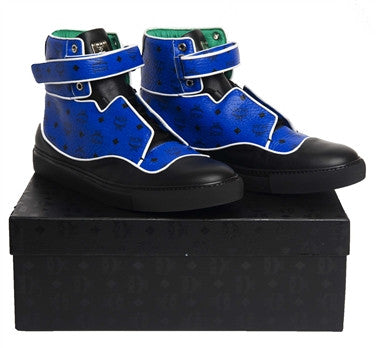 MCM High Top Sneaker (Royal Blue)