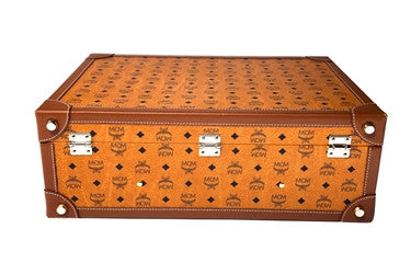 MCM Large Trunk in Cognac