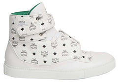MCM High Top Sneaker (White)