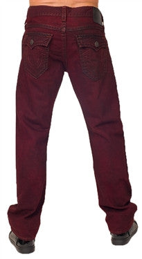 True Religion Ricky Straight (Mahogany)