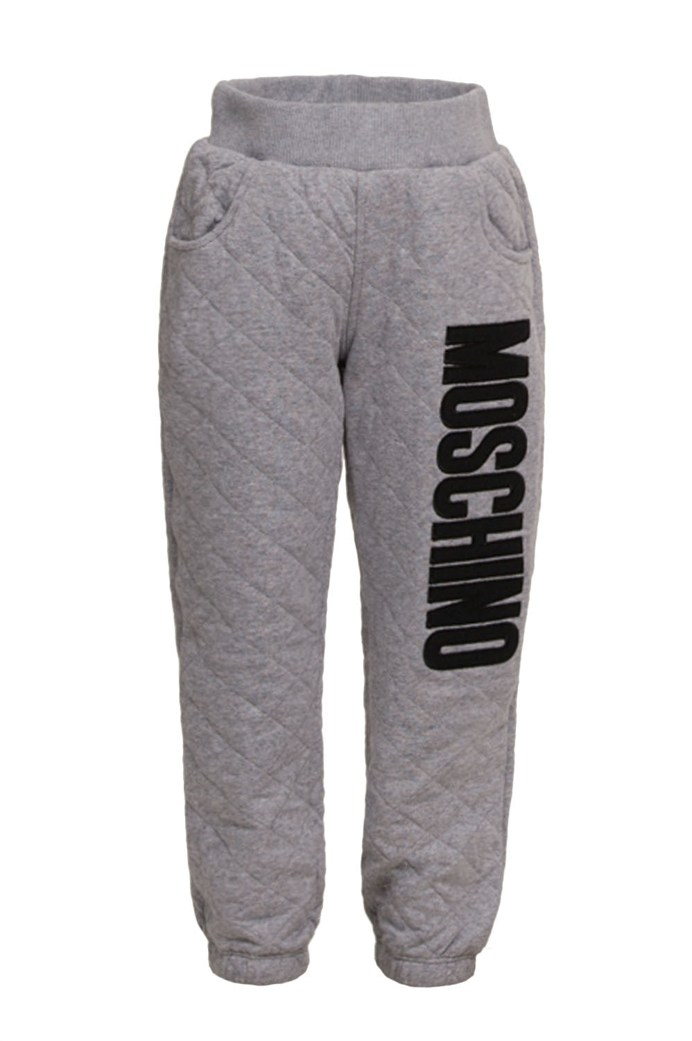 Baby Quilted Grey Sweatpants