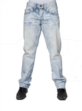 True Religion Geno Slim Straight (Bleach Wash)