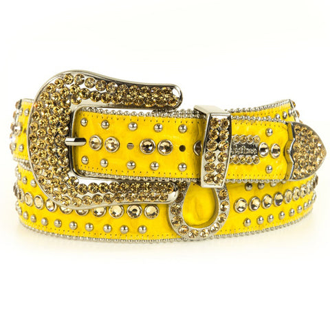 Men's Belt-Yellow