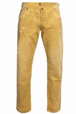 Low Rise Luna Mustard Denim