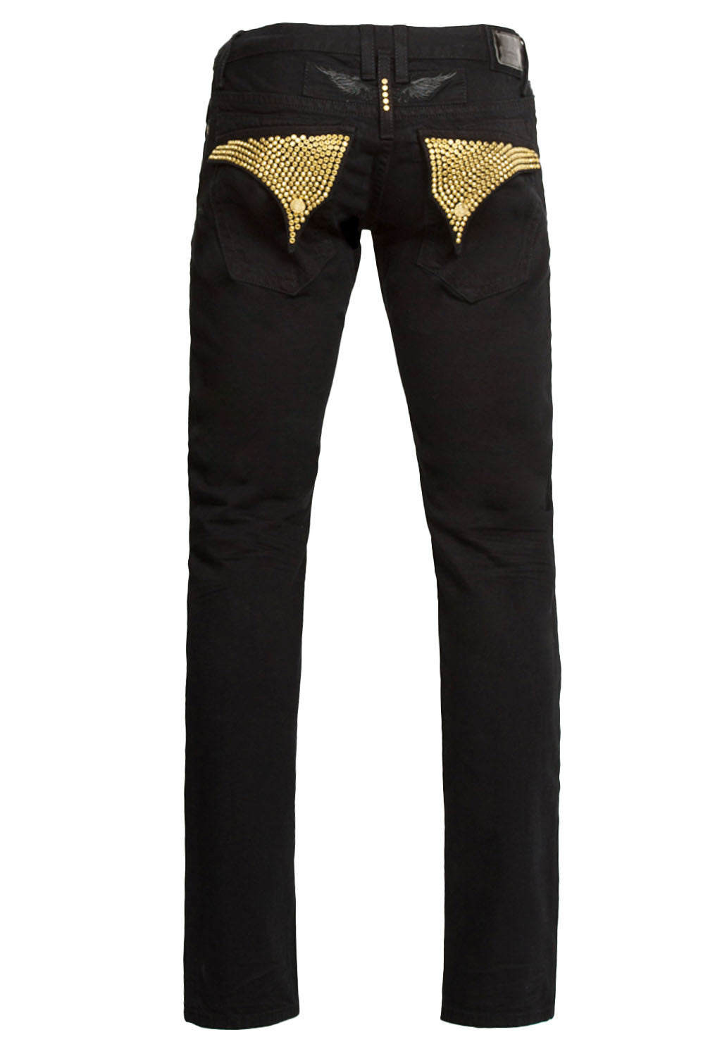 Aurum Swarovski Black Denim