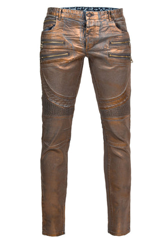 Santino Copper Biker Denim