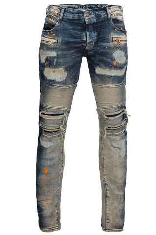 Vasilis Biker Denim