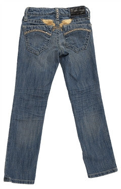 Robin's Jean Kids in Medium Blue