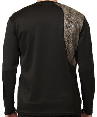 Star Status Club Long Sleeve (Black/Snake)