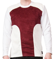 Star Status Club Long Sleeve (Burgundy/White)