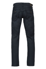 True Religion Geno Flap Pitch Dark Denim Back