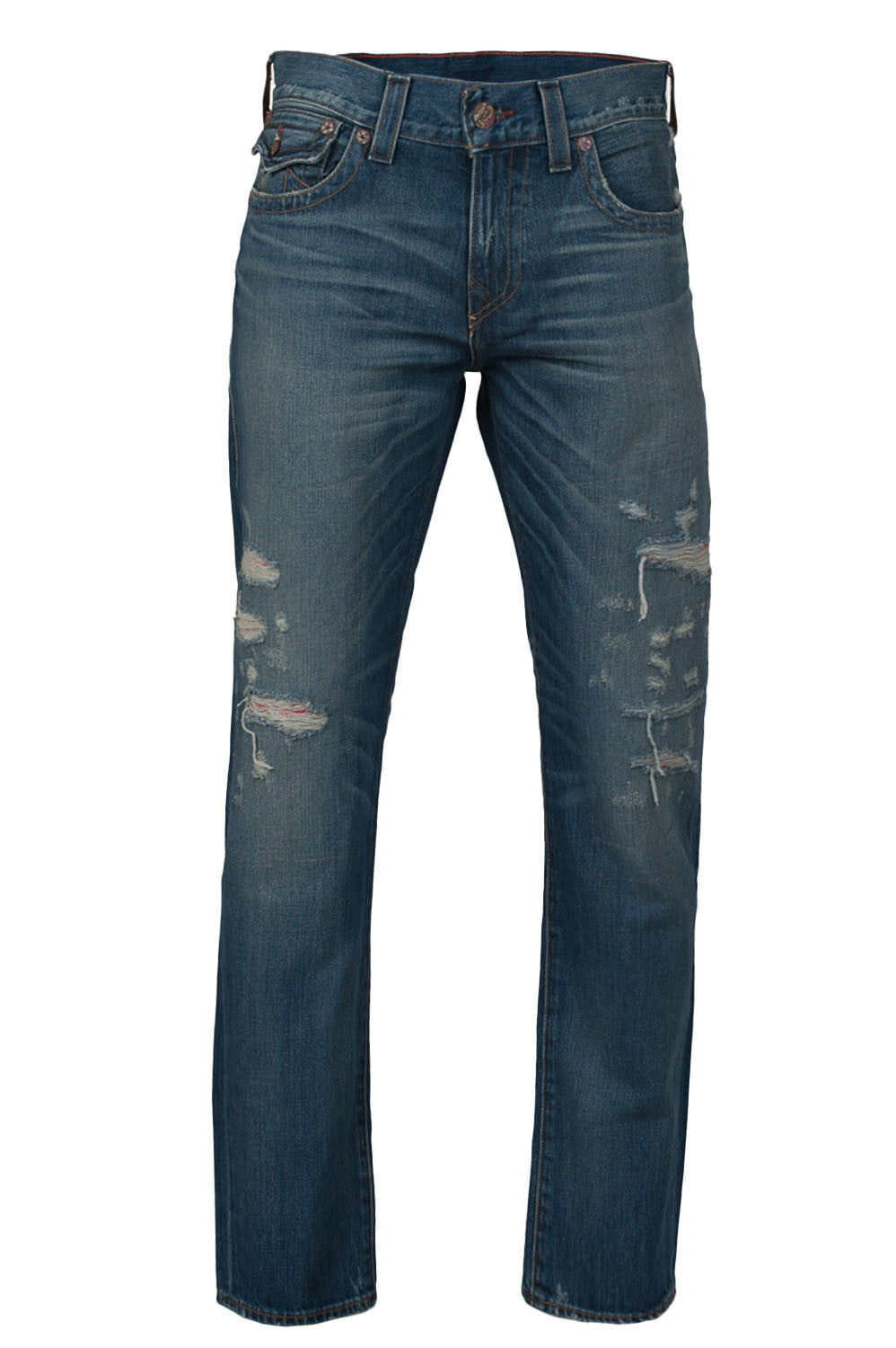 Geno Flap Ripped Denim