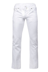 Ricky Straight White Denim