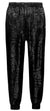 Men's All Over Print Pant-Black