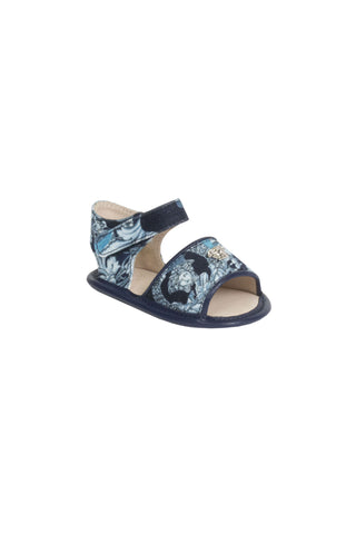 Baby Girl Baroque Sandals-Blue