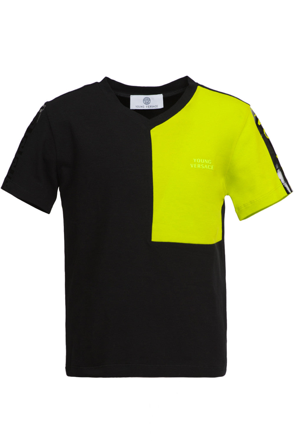 Lime Colorblock Tee