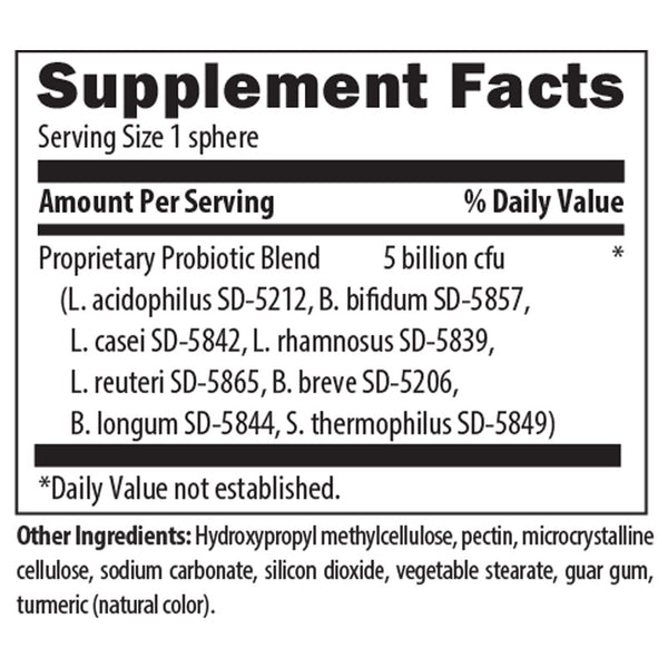 Biotic Support Nutrition Facts