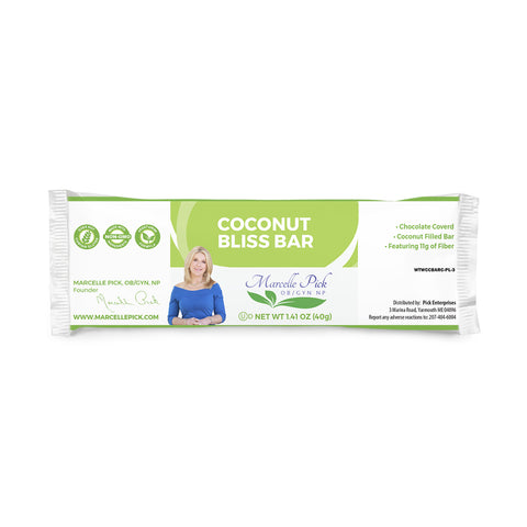 Coconut Bliss Bar 1 case of 18 bars