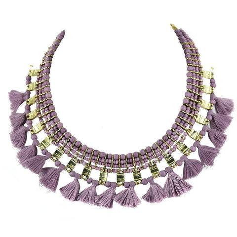 Collar Lila Pechera