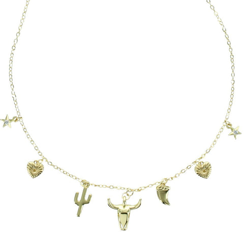 Collar Charms West Toro