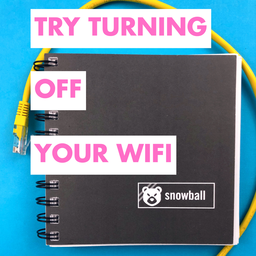 Your WIFI Is A Distraction