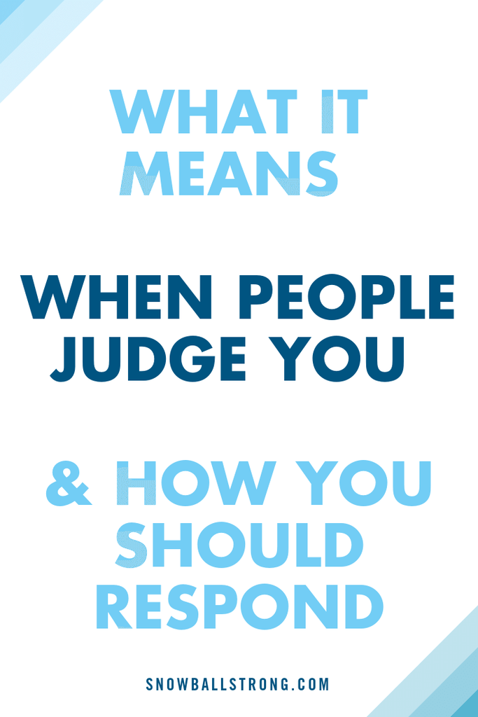 Swish Hand - What It Means When People Judge You & How You Should Respond