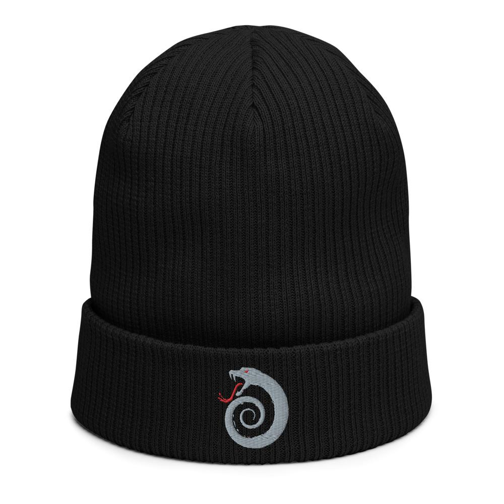 Viper Organic Cotton Ribbed Beanie