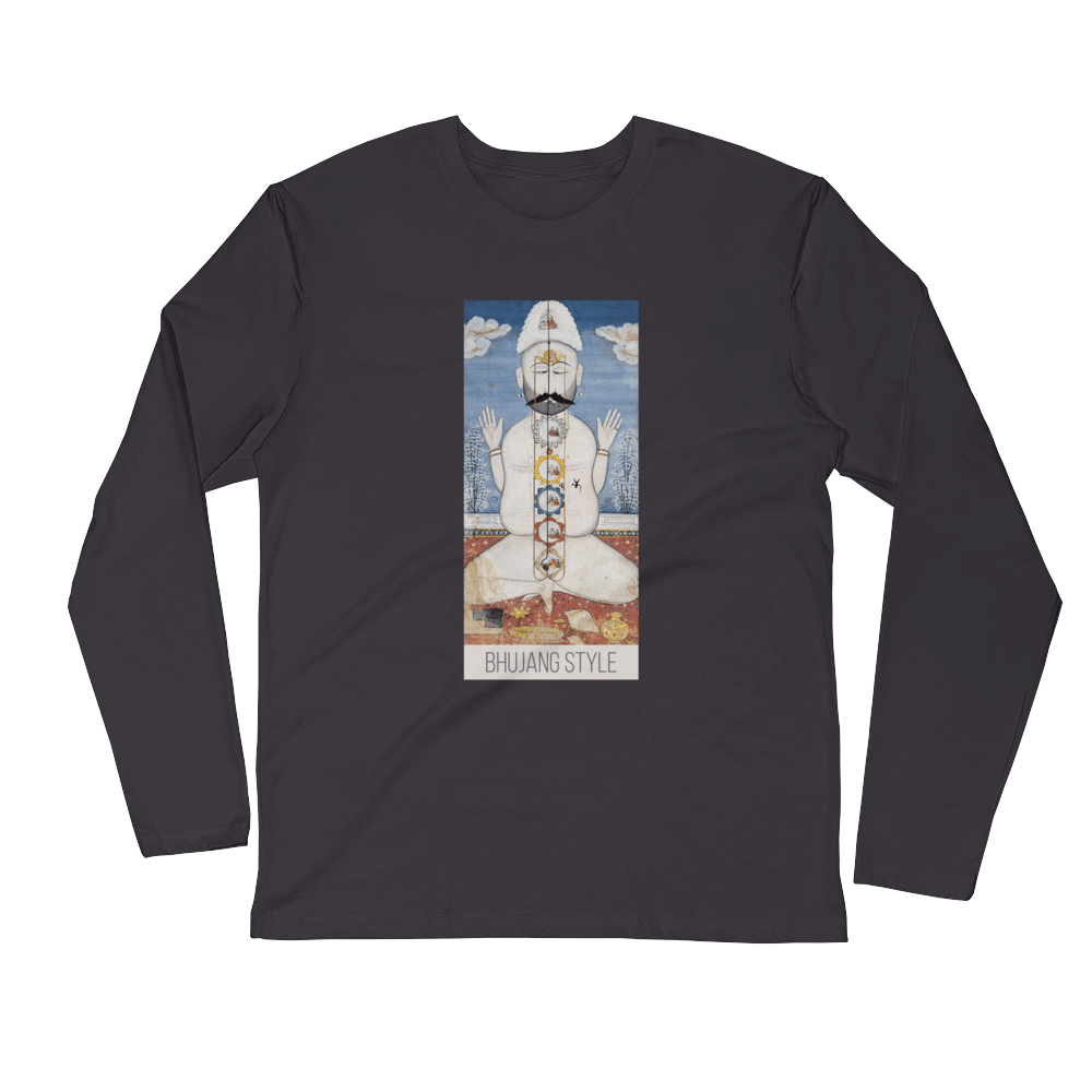 Yogin Long Sleeve Fitted Crew