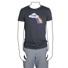 WMD Modular Synthesizer Patch Cord Rainbow T-Shirt