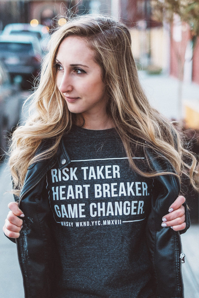 Risk Taker Blogger Crewneck